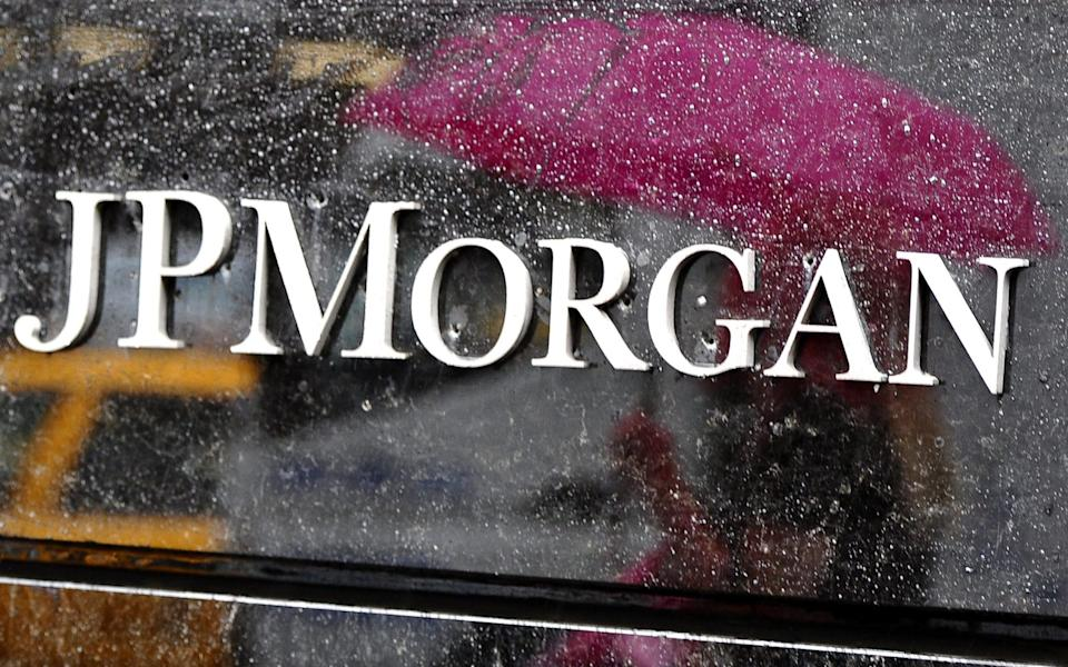 JP Morgan - TIMOTHY A. CLARY/AFP/Getty Images