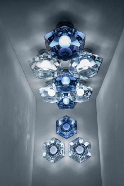 'Cut' ceiling light by Tom Dixon