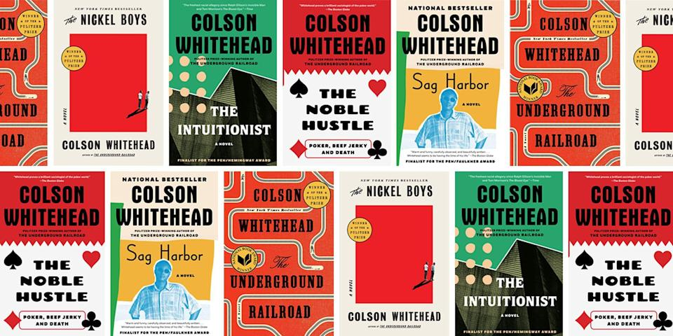"""<p>Oprah described Colson Whitehead's <a href=""""https://go.redirectingat.com?id=74968X1596630&url=https%3A%2F%2Fbookshop.org%2Fbooks%2Fthe-underground-railroad-9780385542364%2F9780345804327&sref=https%3A%2F%2Fwww.oprahdaily.com%2Fentertainment%2Fbooks%2Fg36366611%2Fbooks-by-colson-whitehead%2F"""" rel=""""nofollow noopener"""" target=""""_blank"""" data-ylk=""""slk:2016 novel The Underground Railroad"""" class=""""link rapid-noclick-resp"""">2016 novel <em>The Underground Railroad</em></a><em>, </em>which she selected as one of her <a href=""""https://www.oprahdaily.com/entertainment/books/g23067476/oprah-book-club-list/"""" rel=""""nofollow noopener"""" target=""""_blank"""" data-ylk=""""slk:Book Club picks"""" class=""""link rapid-noclick-resp"""">Book Club picks</a>, as a work that that would never leave her. The bestseller, which went on to win the Pulitzer Prize and National Book Award, reimagines the Underground Railroad as an actual subterranean train bringing enslaved people to freedom in the 18th century. The book was adapted into a stunning <a href=""""https://www.amazon.com/The-Underground-Railroad/dp/B08XC2DV8N?tag=syn-yahoo-20&ascsubtag=%5Bartid%7C10072.g.36366611%5Bsrc%7Cyahoo-us"""" rel=""""nofollow noopener"""" target=""""_blank"""" data-ylk=""""slk:Amazon Prime series"""" class=""""link rapid-noclick-resp"""">Amazon Prime series</a>, directed by Barry Jenkins, which Oprah has extolled. """"I don't know when I've been prouder of a human being. What you've done with <em>The Underground Railroad</em>, there are no words,"""" Oprah <a href=""""https://www.oprahdaily.com/entertainment/tv-movies/a36421995/oprah-barry-jenkins-the-underground-railroad/"""" rel=""""nofollow noopener"""" target=""""_blank"""" data-ylk=""""slk:told"""" class=""""link rapid-noclick-resp"""">told</a> Jenkins. """"You cannot do a thing that you have done, taken Colson Whitehead's words, which were extraordinary to begin with, and now shape them into such a way that the imagery lives in our spirits. That's what you have done.""""</p><p>Let <em>The Underground Railroad </em>be your entry point into Whitehead'"""