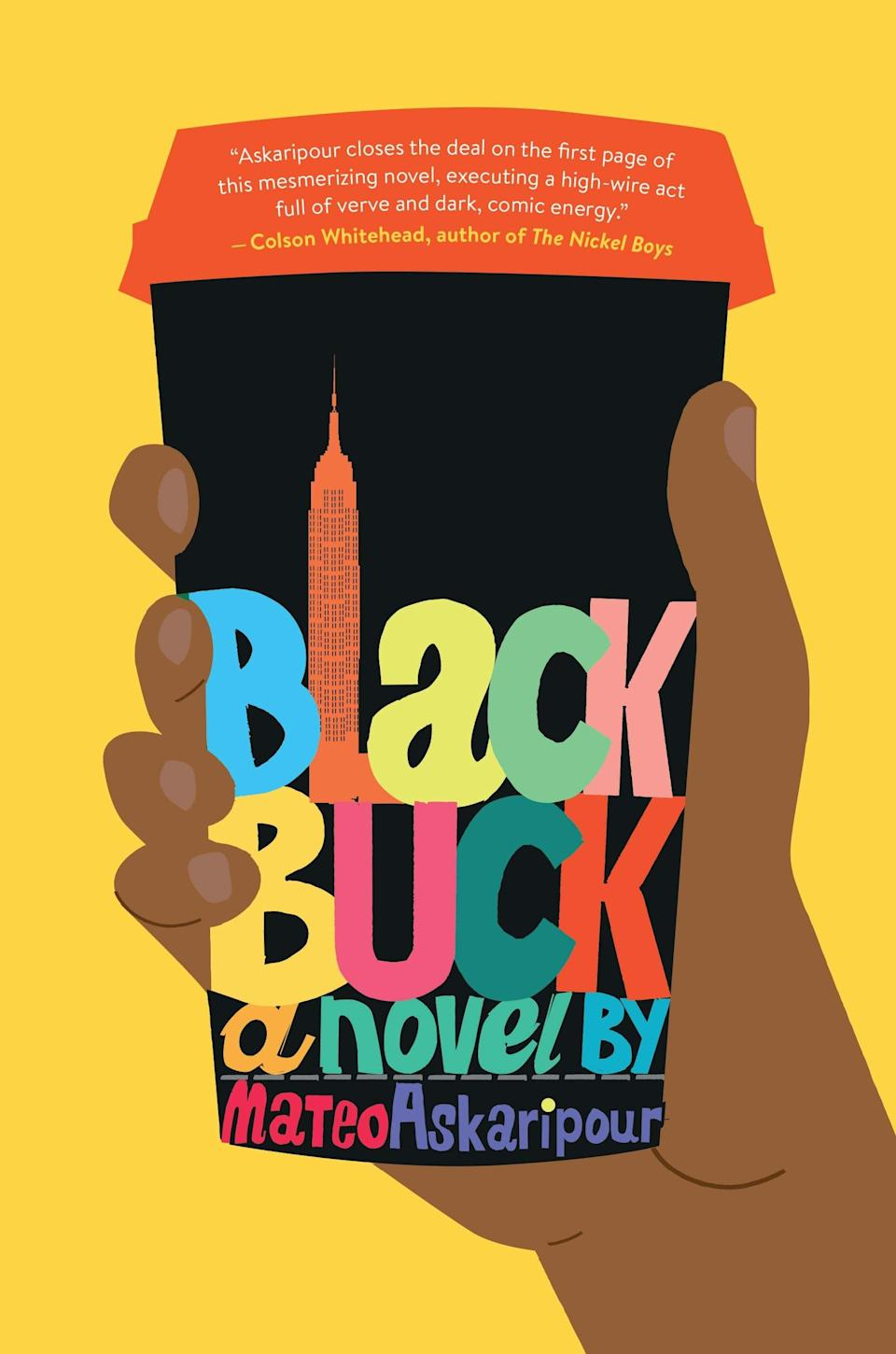 <p>Mateo Askaripour's <span><strong>Black Buck</strong></span> is set to send up the world of corporate America in this sharp debut about a young Black man who reinvents himself as a skilled salesman on a mission. At 20, Darren is living at home with his mom and working at a Starbucks when the CEO of New York's hottest tech startup offers him a job. Once he begins climbing the corporate ladder, Darren comes up with a plan to help young people of color enter the sales force from inside the system. </p> <p><em>Out Jan. 5</em></p>