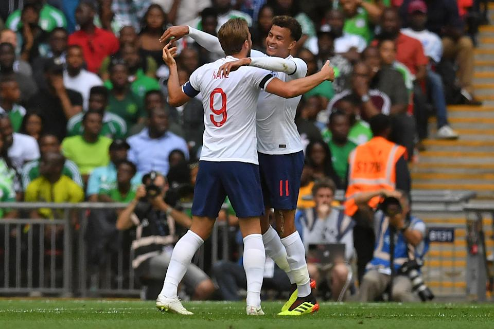 Harry Kane and Dele Alli are two of several attacking talents in the England team that should be able to break down Panama and Tunisia in Group G. But you never know. (Getty)