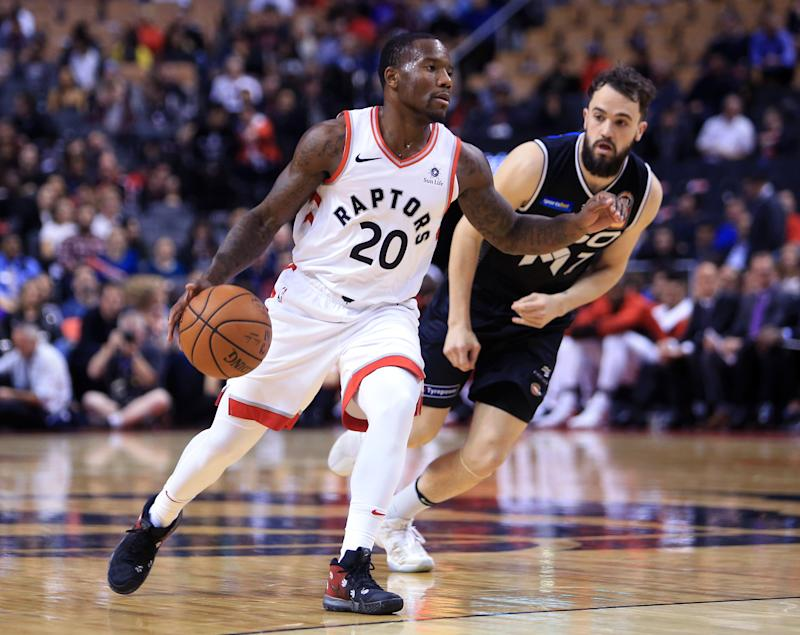 Raptors release former NCAA assist leader after domestic violence charge