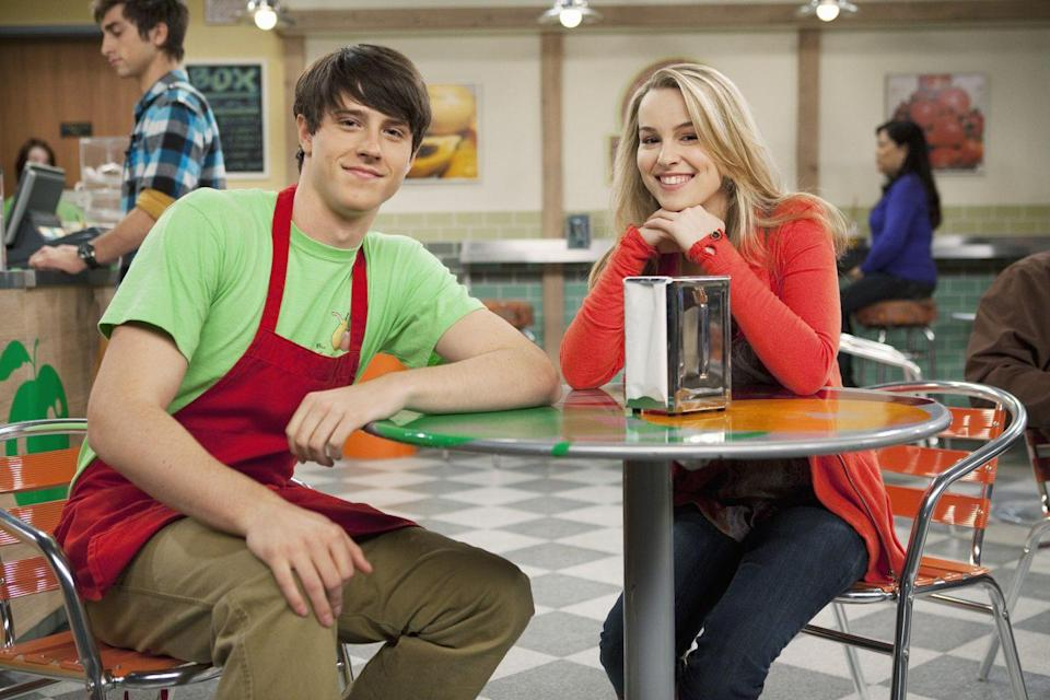 "<p>Characters Teddy Duncan and Spencer Walsh (ship name ""<a href=""https://goodluckcharlie.fandom.com/wiki/Spendy"" rel=""nofollow noopener"" target=""_blank"" data-ylk=""slk:Spendy"" class=""link rapid-noclick-resp"">Spendy</a>"") had on-again/off-again relationship throughout the series. Meanwhile, the actors were also dating and were together for four years before <a href=""https://www.seventeen.com/celebrity/celebrity-couples/news/a35393/disney-channels-cutest-couple-bridgit-mendler-and-shane-harper-have-broken-up/"" rel=""nofollow noopener"" target=""_blank"" data-ylk=""slk:breaking up in 2015"" class=""link rapid-noclick-resp"">breaking up in 2015</a>.</p><p>In 2016, <a href=""https://www.seventeen.com/celebrity/news/a42218/shane-harper-like-i-did-music-video-premiere/"" rel=""nofollow noopener"" target=""_blank"" data-ylk=""slk:Seventeen exclusively premiered"" class=""link rapid-noclick-resp""><em>Seventeen</em> exclusively premiered</a> Shane's music video for his song, ""Like I Did."" When asked if the song was about Bridgit, he said, ""Yeah, I mean I don't want to get too much into the details of it, but the song for me definitely has that connection to my life personally.""</p>"