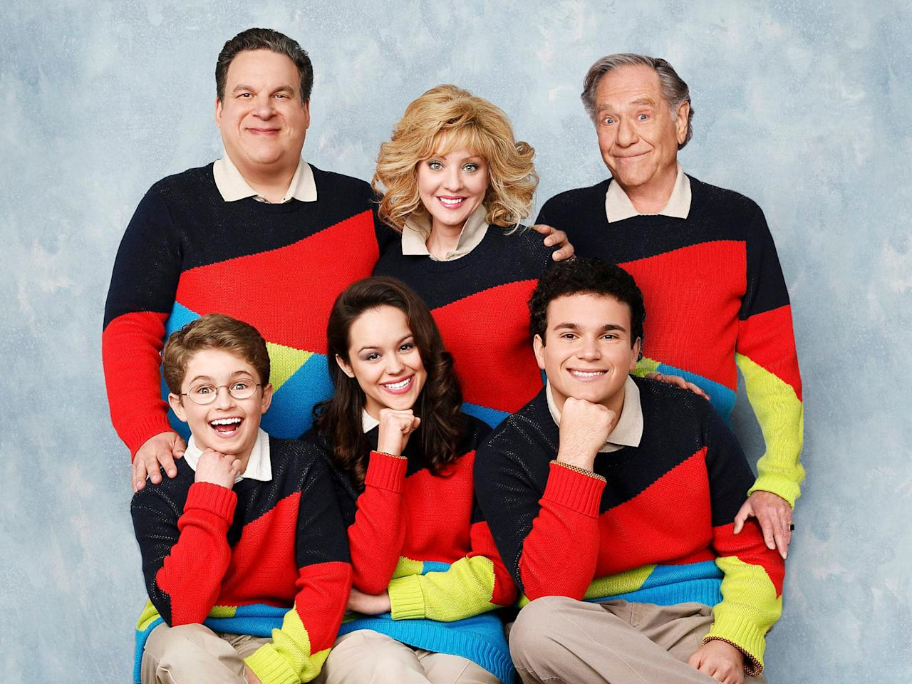 "The cast of ABC's ""The Goldbergs."""