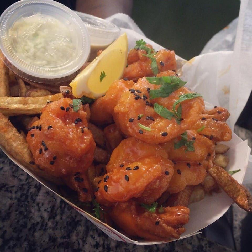 """<p><strong><a href=""""https://www.yelp.com/biz/pepes-place-new-rochelle"""" rel=""""nofollow noopener"""" target=""""_blank"""" data-ylk=""""slk:Pepe's Place"""" class=""""link rapid-noclick-resp"""">Pepe's Place</a>, New Rochelle</strong></p><p>""""Sooo good!! The Thai shrimp was amazing and the mac and cheese was one of the best I've ever tried! The best part is the service — everyone there was so kind and you could tell they are very passionate about what they do."""" — Yelp user <a href=""""https://www.yelp.com/user_details?userid=7BoekTkfF5cbFXlEW1qLZQ"""" rel=""""nofollow noopener"""" target=""""_blank"""" data-ylk=""""slk:Javeria A."""" class=""""link rapid-noclick-resp"""">Javeria A.</a></p><p>Photo: Yelp/<a href=""""https://www.yelp.com/user_details?userid=5H9j1iH0evDBoa1EuWfLzQ"""" rel=""""nofollow noopener"""" target=""""_blank"""" data-ylk=""""slk:Oliver S."""" class=""""link rapid-noclick-resp"""">Oliver S.</a></p>"""