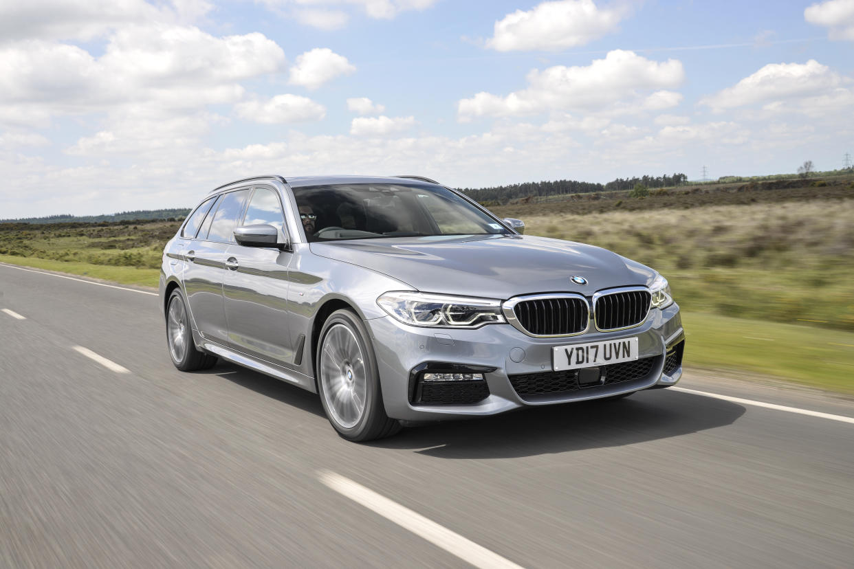 BMW's 5 Series Touring is one of the more dynamic estate cars on the market