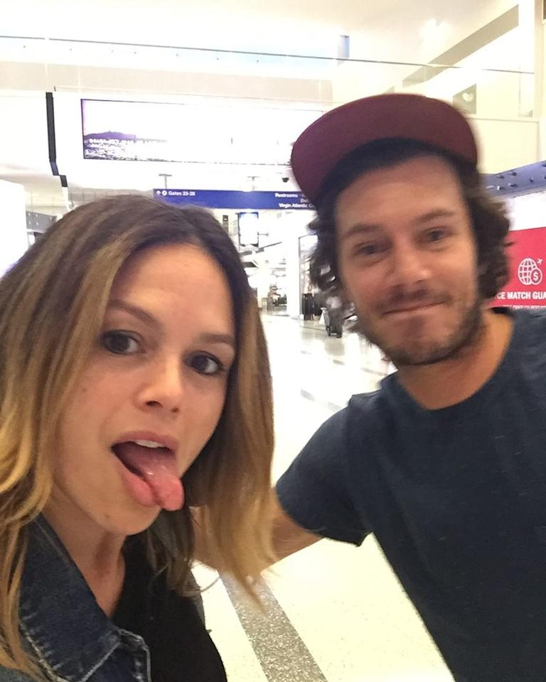 """Bilson and Brody randomly bumped into each other at the airport in August 2019 and gave us all the feels. """"Ran into my ol buddy from jfk to lax #californiaherewecome,"""" Bilson <a href=""""https://people.com/tv/adam-brody-rachel-bilson-airport-oc-reunion/"""">captioned the photo of the pair</a>. We still ship it!"""