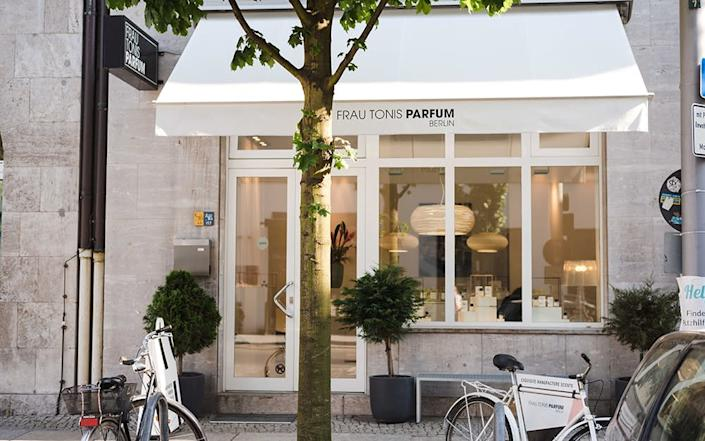 Frau Tonis Parfum, a boutique perfumery in Berlin