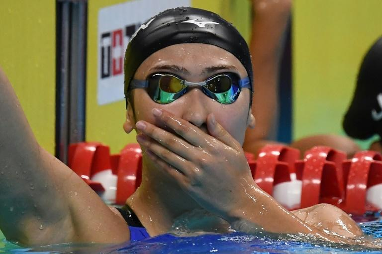 Rikako Ikee equalled a Japanese record with her fifth gold medal in Jakarta