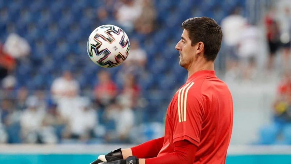 Thibaut Courtois   ANATOLY MALTSEV/Getty Images