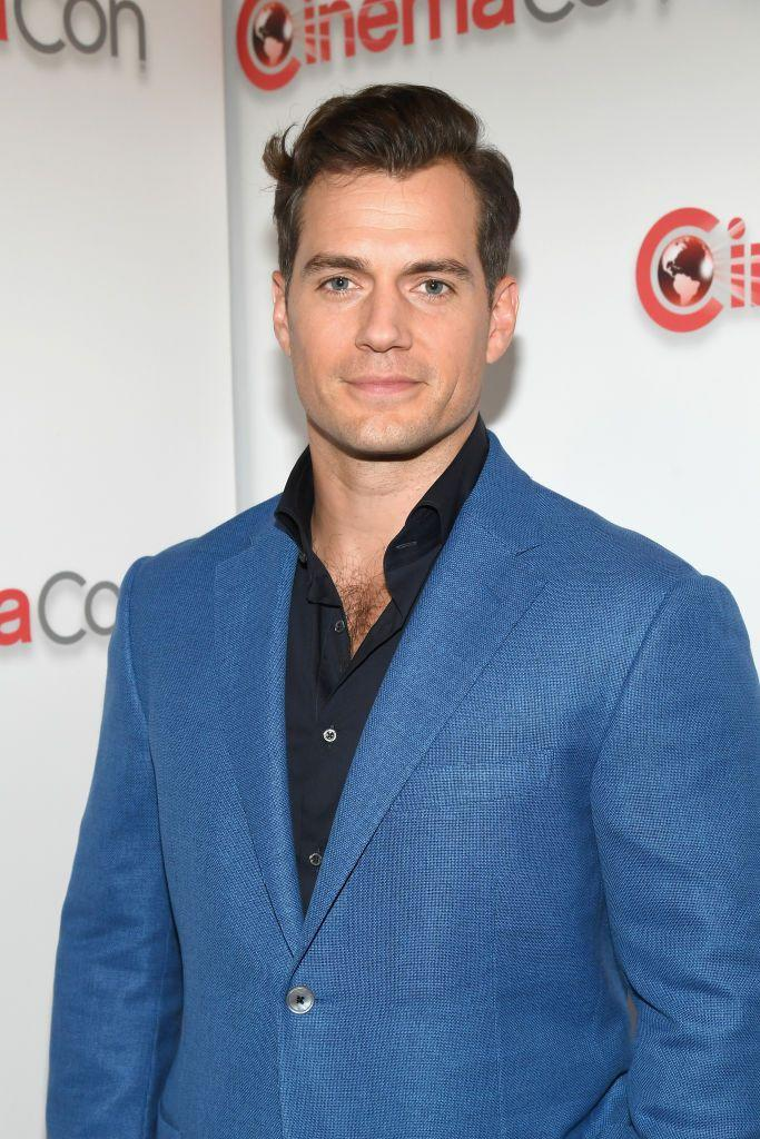 <p>It may not be Superman's style, but Cavill isn't afraid to rock some check hair when he gets dressed up. Case in point: This red carpet look.</p>