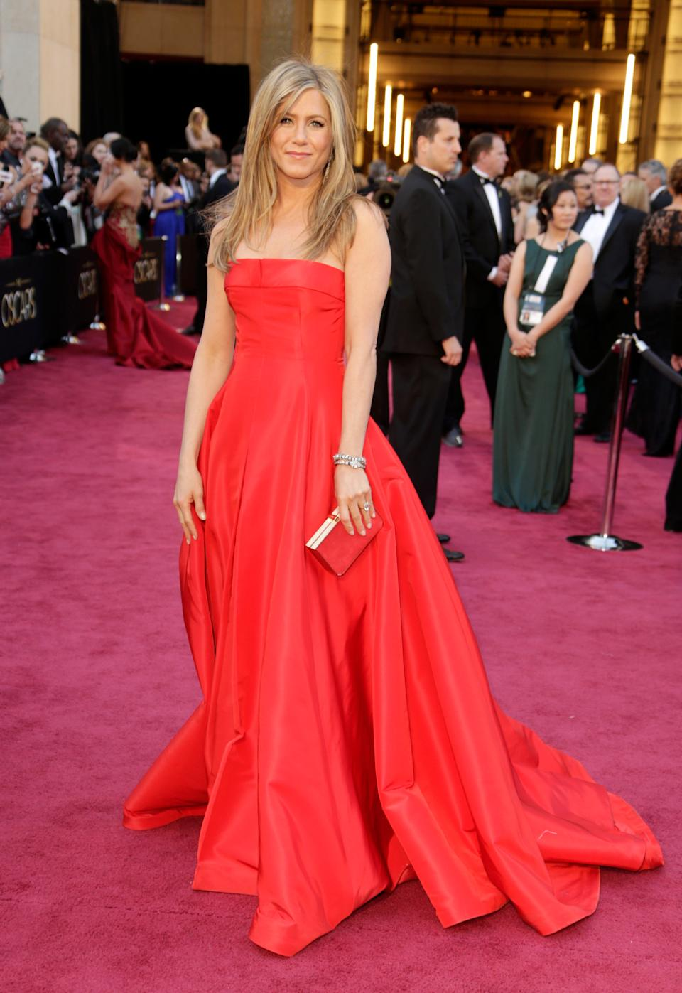 The 2013 Academy Awards called for the ultimate in red carpet glamour: Valentino couture.