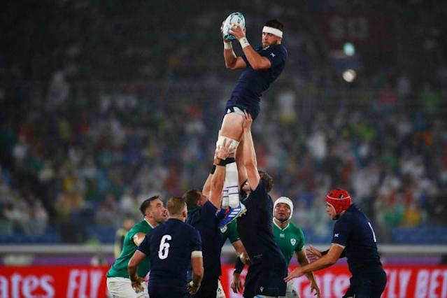 Scotland will be hoping to fly high against Samoa (AFP Photo/Odd ANDERSEN)