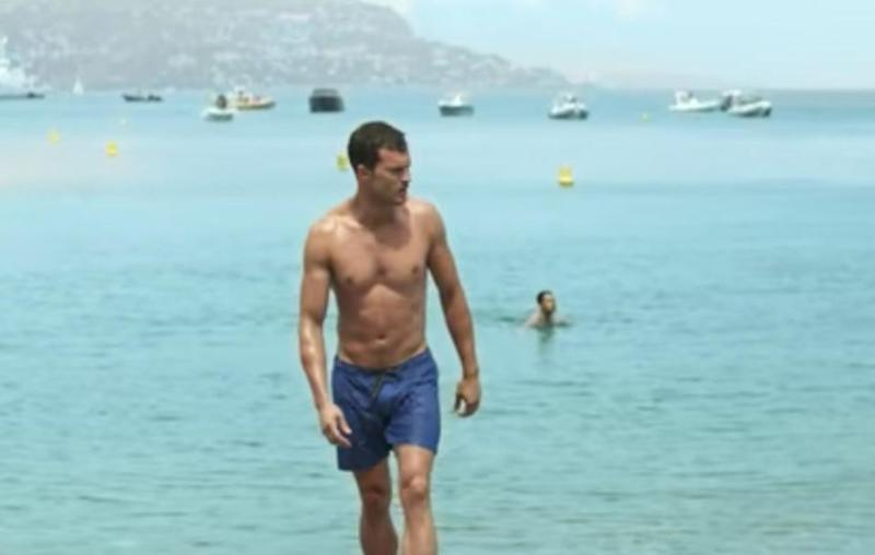Of course fans are offered some shirtless action of Christian Grey in the trailer. Source: Universal Pictures