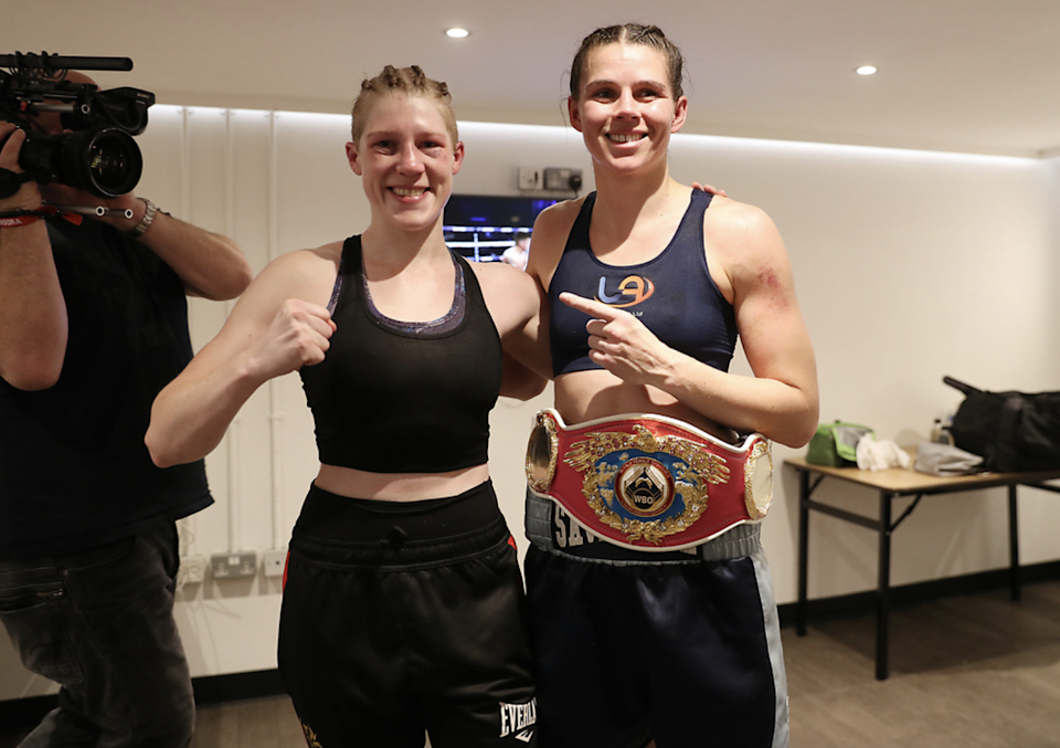 Marshall beat Hannah Rankin to claim the WBO middleweight title in OctoberMark Robinson
