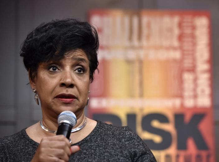 """<span class=""""caption"""">Students at Howard University are already calling for Phylicia Rashad's resignation as dean. </span> <span class=""""attribution""""><a class=""""link rapid-noclick-resp"""" href=""""https://www.gettyimages.com/detail/news-photo/phylicia-rashad-attends-david-makes-man-clips-and-news-photo/1124931798?adppopup=true"""" rel=""""nofollow noopener"""" target=""""_blank"""" data-ylk=""""slk:David Becker/Getty Images for The Blackhouse Foundation"""">David Becker/Getty Images for The Blackhouse Foundation</a></span>"""