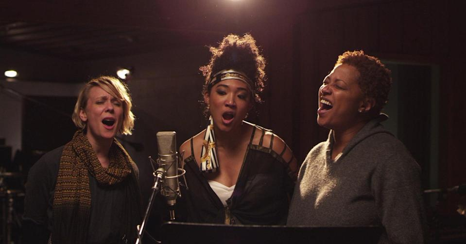 """<p>This fascinating documentary, which won an Oscar in 2014 for best documentary feature, offers a look at the people who are so rarely credited or even noticed: the backup vocalists who support some of music's greatest legends. Featuring longtime performers such as Darlene Love and Merry Clayton, filmmaker Morgan Neville shines an overdue spotlight on the artists who have helped make our favorite songs so great.</p> <p>Watch <a href=""""https://www.netflix.com/title/70267838"""" class=""""link rapid-noclick-resp"""" rel=""""nofollow noopener"""" target=""""_blank"""" data-ylk=""""slk:20 Feet From Stardom""""><strong>20 Feet From Stardom</strong></a> on Netflix now.</p>"""