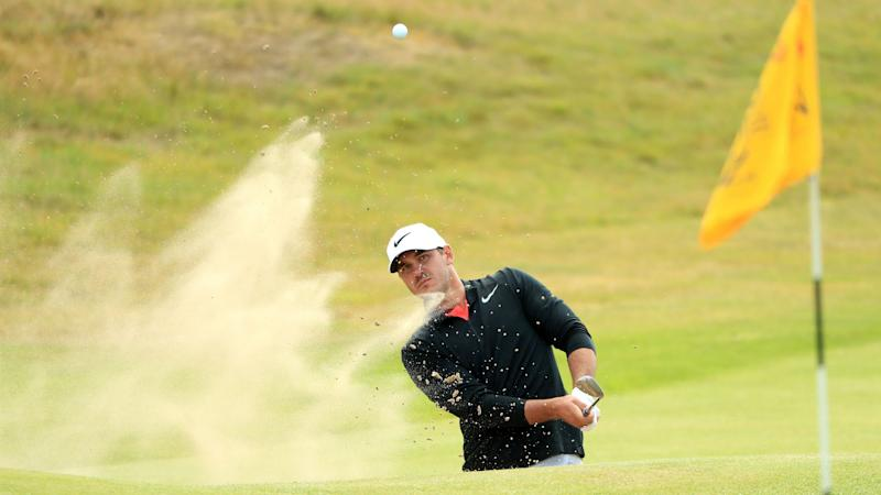 The Open: Rory McIlroy's first-round fightback inspired by caddie