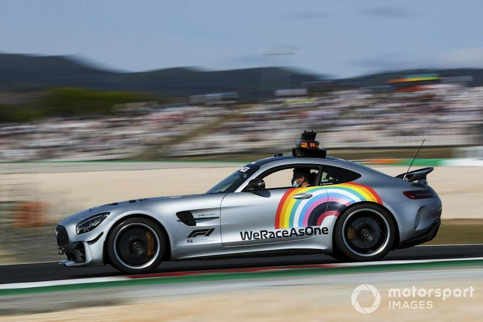 """The Safety Car<span class=""""copyright"""">Charles Coates / Motorsport Images</span>"""