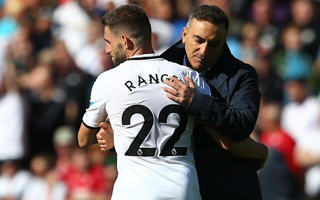 Carlos Carvalhal is the third Premier League manager to lose his job this week after paying the price for Swansea's relegation, with the club now in search of their fifth appointment in 19 months. Carvalhal was in talks with Swansea's board on Thursday and has been told he will be leaving the club after just six months in chage. Swansea's drop into the Championship was confirmed last weekend after the 2-1 defeat to Stoke and Carvalhal is departing after a dreadful run of form and huge question marks over his tactics and approach. The former Sheffield Wednesday manager, 52, had appeared on course to navigate a route to survival after taking 17 points in his first nine games, but results and performances began to unravel in the final months of the campaign. Swansea's board have now decided he is not the man to take them forward in the second tier and his departure will be confirmed later today. Carlos Carvalhal told the media he thought he had done a good job Credit: GETTY IMAGES His contract expires at the end of the season and an option to extend that deal will now not be activated. Swansea will now step up their search for another new manager, as they prepare for the Championship. Ostersunds' Graham Potter, who was interviewed in December, will come into contention again while there could also be support for Brentford's Dean Smith, a target for rivals West Bromwich Albion.