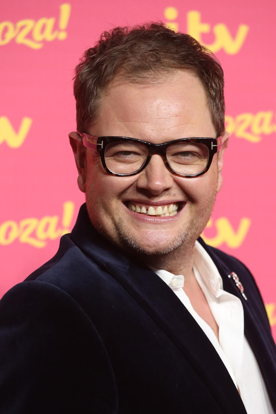 Alan Carr decided to sell his car on after getting it back once it was stolen. (Photo by Lia Toby/Getty Images)
