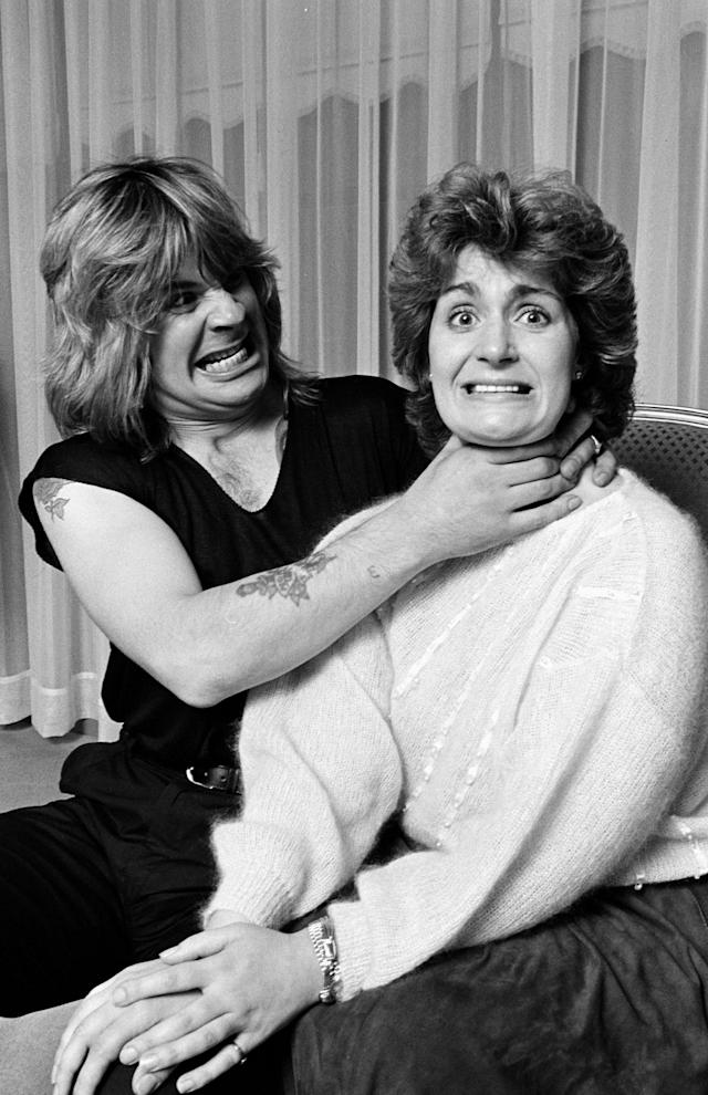 UNITED STATES - MARCH 01: Ozzy Osbourne, Sharon Osbourne (Photo by The LIFE Picture Collection via Getty Images)