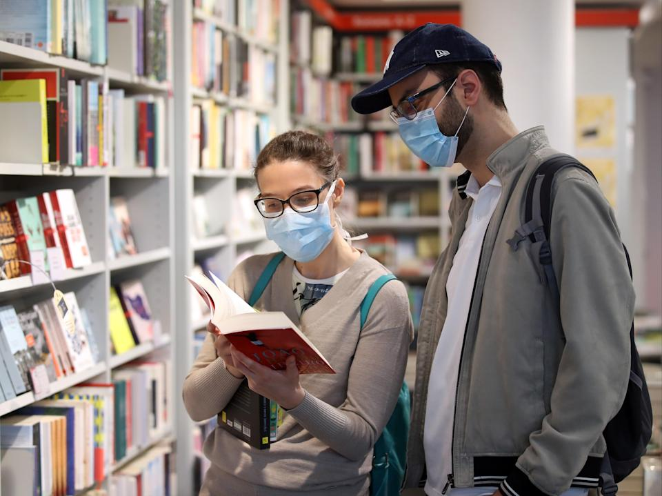 <p>The past year has seen an uptick in reading driven by the pandemic</p> (Getty)