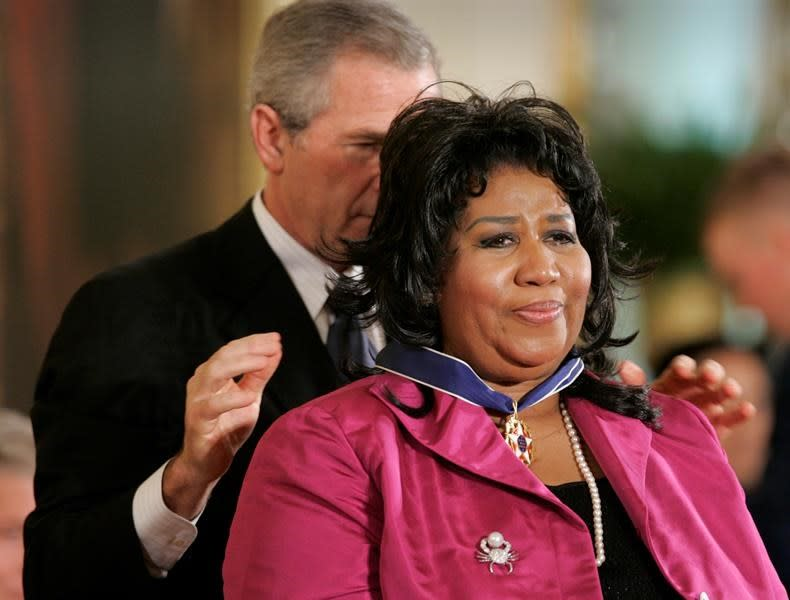Aretha Franklin came to Washington to sing - and for history
