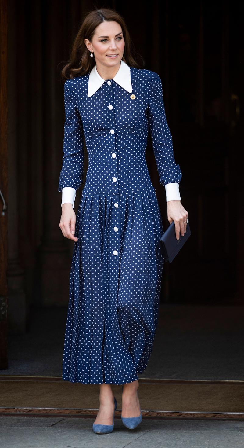 c1ce337574a Kate Middleton polka dot dress shop