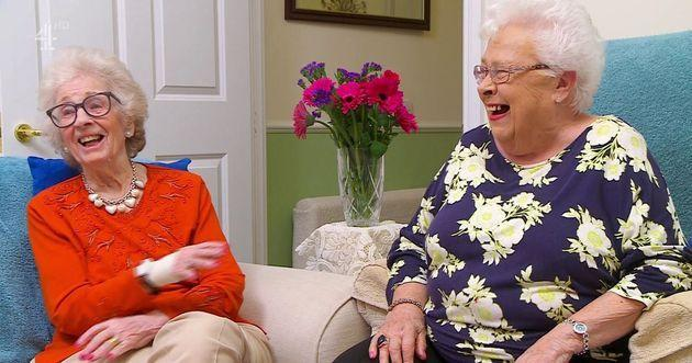 Mary and Marina on Gogglebox (Photo: Channel 4)