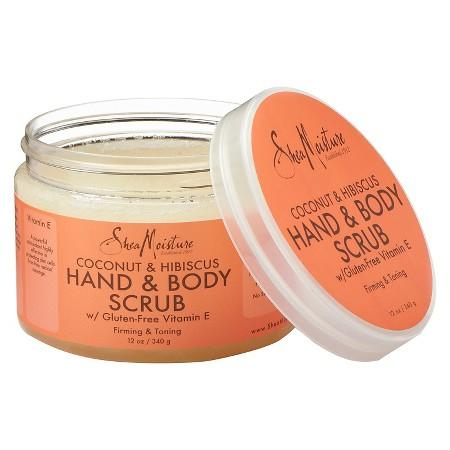 "<p>After our eyes, our hands are our most intimate point of contact with the people we love. This ultra-moisturizing scrub is the easiest way to keep your hands looking and feeling soft, young, and sexy. One scoop of this gentle yet effective exfoliator can treat two people at once in five minutes flat. <strong>SheaMoisture Coconut & Hibiscus Hand & Body Scrub, (<a rel=""nofollow"" href=""https://www.walgreens.com/store/c/sheamoisture-coconut--hibiscus-hand--body-scrub/ID=prod6162491-product?ext=gooPLA_-_Beauty&pla&adtype=pla_with_promotion&kpid=sku6144921&sst=6d29eb38-66b6-4184-8cf9-00351d8e5c88"">$11</a>)</strong> </p>"