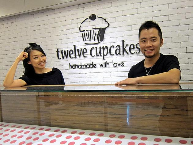 Celebrity couple Jaime Teo and Daniel Ong in copyright tussle with SPH over articles about their cupcake business. (Photo from Twelve Cupcakes' Facebook page)
