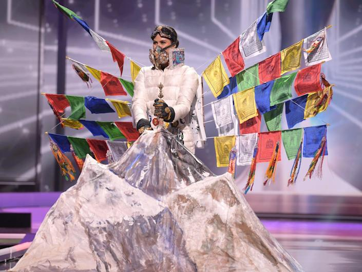 Miss Nepal National Costume Show 2021