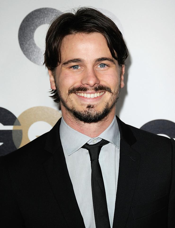 """Actor Jason Ritter arrives at the 16th Annual GQ """"Men Of The Year"""" Party at Chateau Marmont on November 17, 2011 in Los Angeles, California.  (Photo by Frazer Harrison/Getty Images)"""