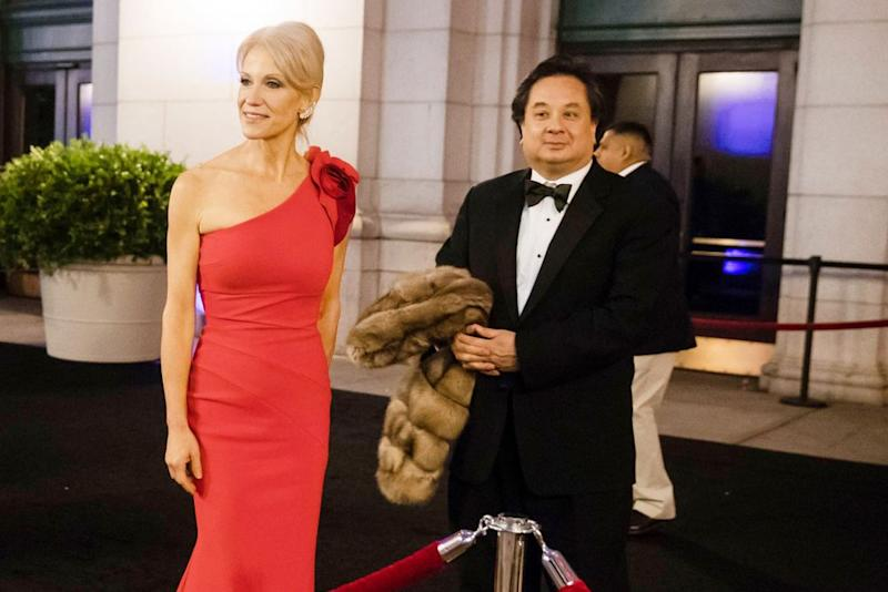 Kellyanne Conway and George Conway III