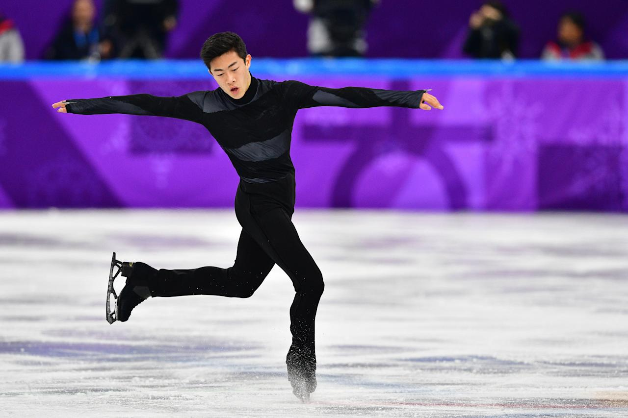 <p>Nathan Chen had a rough debut at the Olympics, falling during his short program of the team event. But the American is capable of completing five different types of quadruple jumps and winning the gold medal. </p>