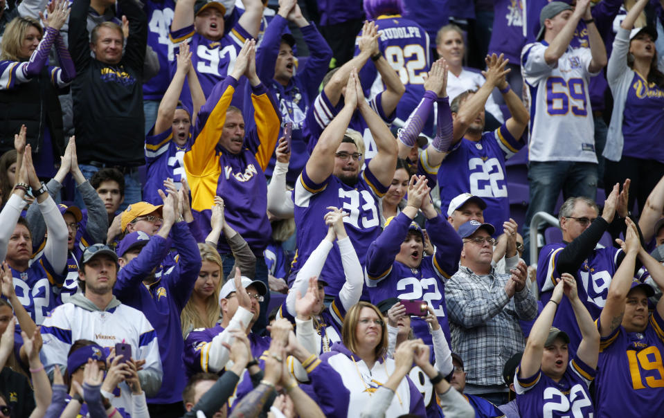 It has been a dream season for the Vikings as they head into their divisional round playoff game on Sunday against the Saints. (AP)