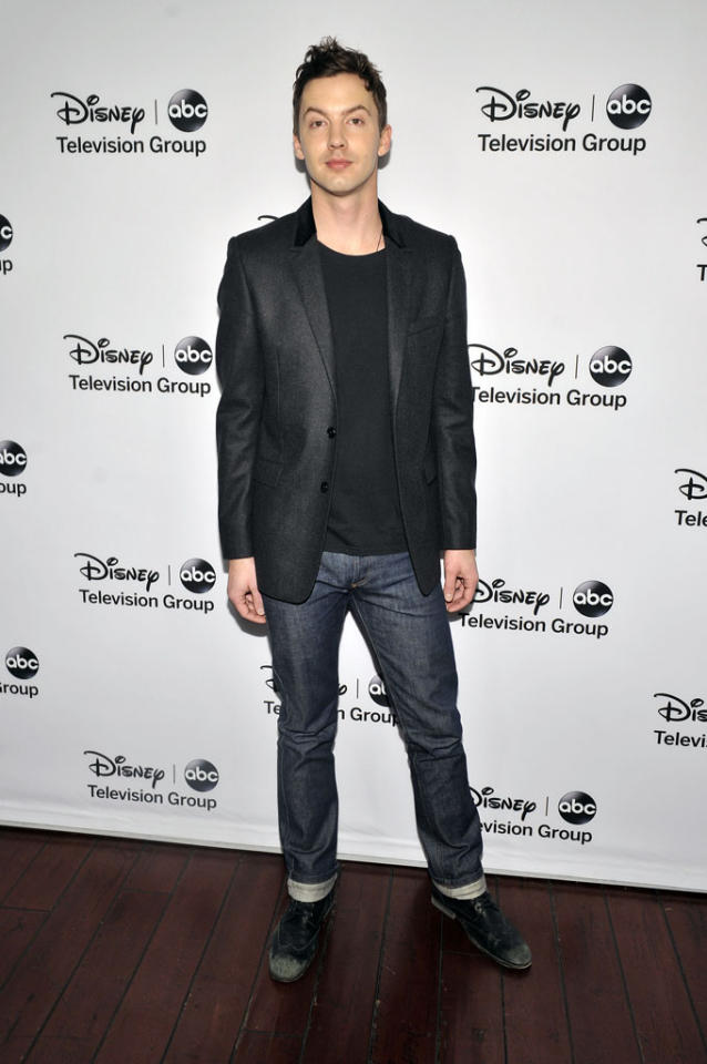 "Erik Stocklin (""Mistresses"") attends the Disney ABC Television Group 2013 TCA Winter Press Tour at The Langham Huntington Hotel and Spa on January 10, 2013 in Pasadena, California."