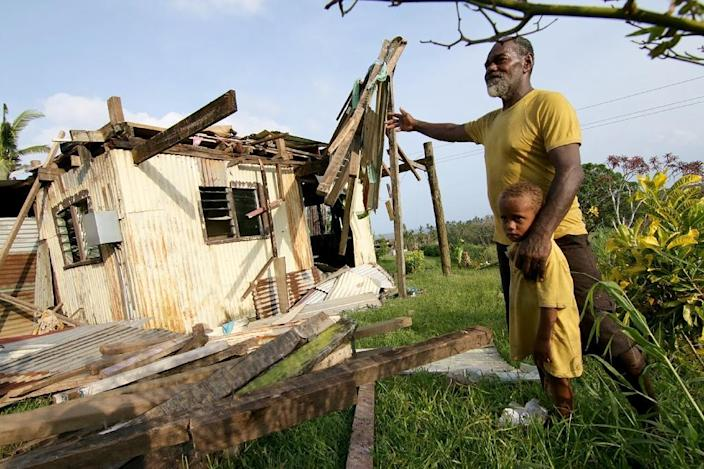 Cyclone-devastated Fiji said it was likely to need more foreign aid Thursday as the body count from the most powerful storm in its history climbed to 44 (AFP Photo/Steven Saphore)