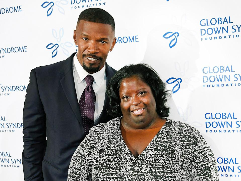 Jamie Foxx is mourning the death of his younger sister, DeOndra Dixon. (Denver Post via Getty Images)