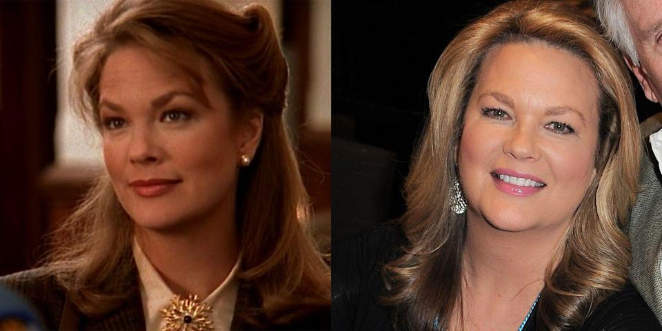 <p>A legend from TV's OG <em>Dynasty</em> (playing Dana Waring Carrington), Leann Hunley took Capeside by storm when her teacher character had a forbidden love affair with student Pacey Witter. Leann would go on to play Logan's mom Shira on <em>Gilmore Girls</em> and Anna DiMera on <em>Days of Our Lives</em>. </p>