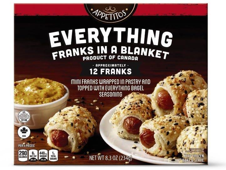 Appetitos Franks In A Blanket Everything