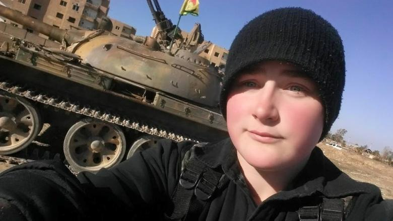 Alberta woman fighting ISIS now part of offensive near Raqqa, video suggests