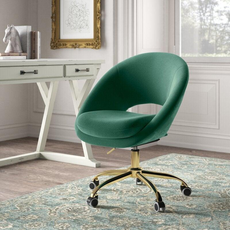 "<h2>Lourdes Velvet Task Chair</h2><br><strong>Discount:</strong> 32% off<br><br><strong>The Hype: </strong>4.7 out of 5 stars and 1,716 reviews<br><br><strong>Deal Hunters Say: </strong>""Super cute and actually comfortable. I have some back pain/issues since a car accident a few years ago and it is hard to find a cute/comfy chair-this has been great!""<br><br><em>Shop </em><strong><em><a href=""https://fave.co/3luoy2T"" rel=""nofollow noopener"" target=""_blank"" data-ylk=""slk:Kelly Clarkson Home"" class=""link rapid-noclick-resp"">Kelly Clarkson Home</a></em></strong><br><br><strong>Kelly Clarkson Home</strong> Lourdes Velvet Task Chair, $, available at <a href=""https://go.skimresources.com/?id=30283X879131&url=https%3A%2F%2Ffave.co%2F3kEfmYp"" rel=""nofollow noopener"" target=""_blank"" data-ylk=""slk:Wayfair"" class=""link rapid-noclick-resp"">Wayfair</a>"
