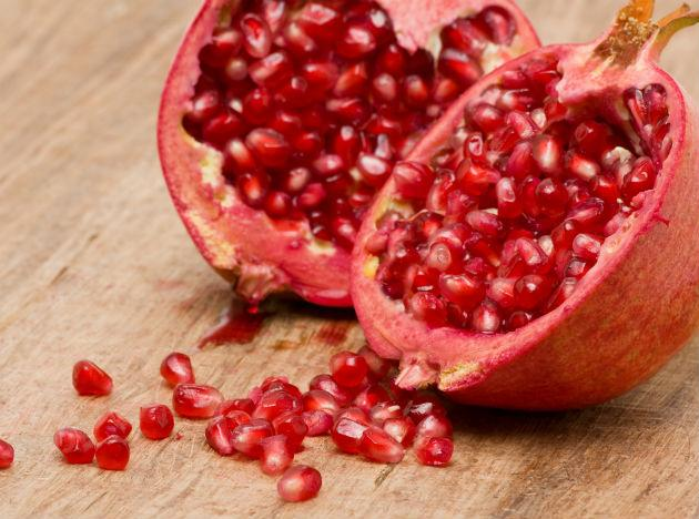 "<b>Pick power fruits:</b> ""I make smoothies with pomegranates and blueberries because my research shows that both these fruits contain compounds that can slow the growth of certain types of cancer cells."" -Shuian Chen, Ph.D., director, Tumor Cell Biology Beckman Research Institute, City of Hope"