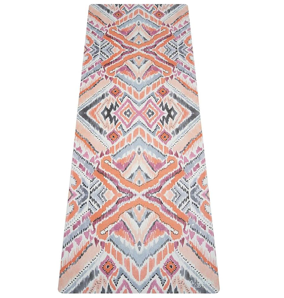 """<p>With 14 patterns to choose from, the <span>Yoga Design Lab Combo Yoga Mat</span> ($88) can be tailored to suit your personal style.</p> <p>Click <a href=""""https://www.popsugar.com/smart-living/Health-Wellness-Tips-46521311"""" class=""""link rapid-noclick-resp"""" rel=""""nofollow noopener"""" target=""""_blank"""" data-ylk=""""slk:here for more health and wellness stories, tips, and news"""">here for more health and wellness stories, tips, and news</a>.</p>"""