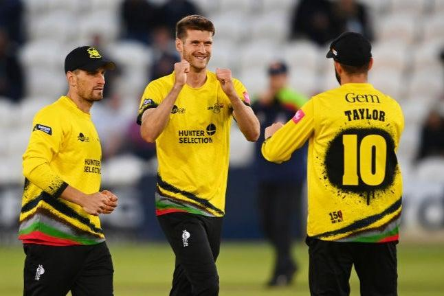 David Payne (centre) of Gloucestershire could be one of many debutants in this new-look England side (Getty Images)