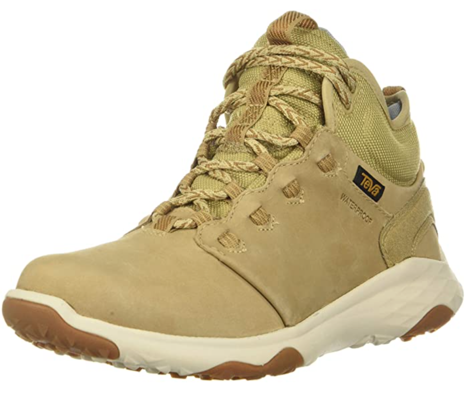 Teva 'Arrowood' Hiking Boot in Desert Sand (Photo via Amazon)