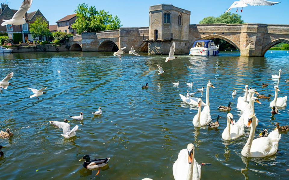 Hugh looked upon the bridge in St Ives as if it were the Ponte Vecchio in Florence - istock