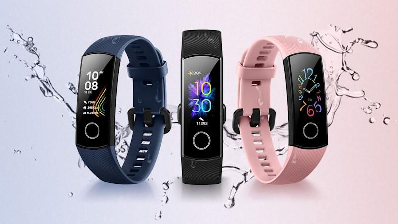 Honor Band 5 comes in three colours